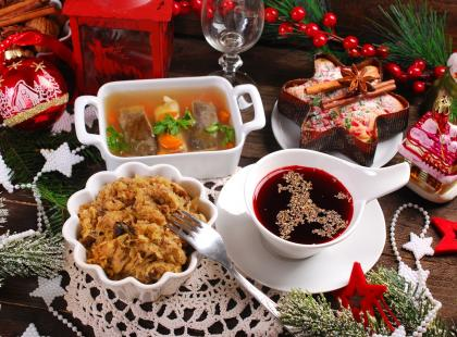 Tego unikaj przy świątecznym stole, gdy masz problemy z żołądkiem