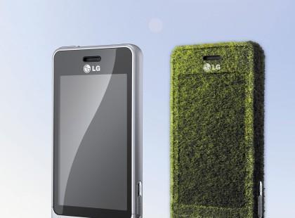 Telefon LG GD510 na... słońce