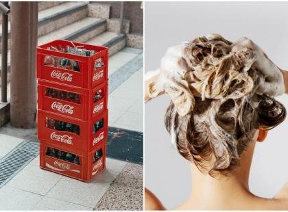 Ten sposób robi się coraz bardziej popularny: mycie włosów Coca-colą. Warto spróbować?