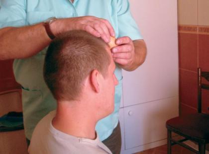Terapia jajem w praktyce: oczyszczanie głowy