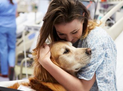 Terapia ze zwierzętami może zdziałać cuda