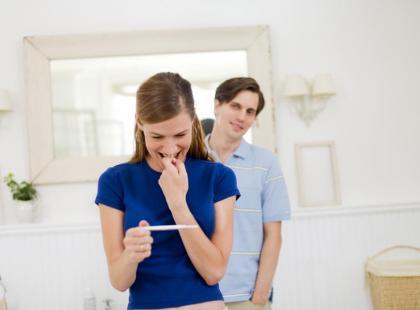 Test ciążowy - upominek za wspomnienie