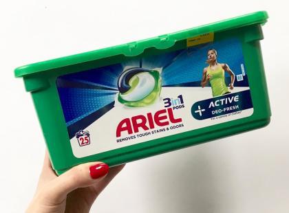 Test redakcji kapsułek do prania Ariel Active Deo-Fresh PODS