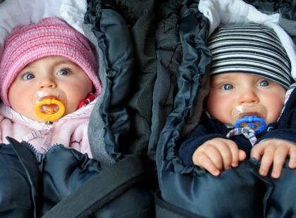 Test zimowych śpiworków dla maluchów!