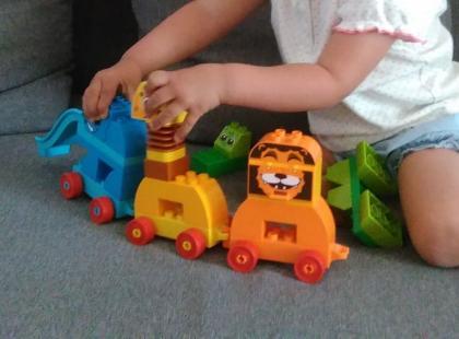 Testujemy LEGO DUPLO [10863] Pociąg ze zwierzątkami!