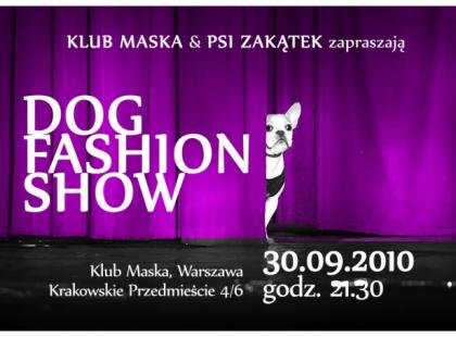 The Dog Fashion Show w Warszawie