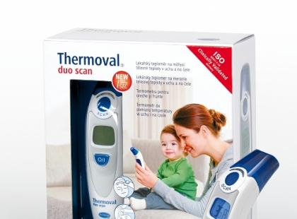 Thermoval® duo scan i Thermoval® rapid flex