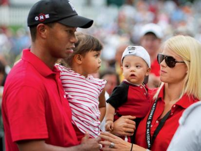 Tiger Woods i Elin Nordegren po rozwodzie