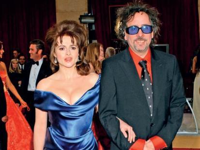 Tim Burton i Helena Bonham Carter - Pan Nieśmiały, Pani Krzykliwa