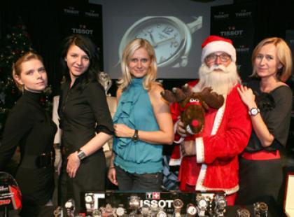 Tissot zaprezentował prezenty pod choinkę