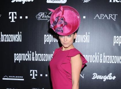 Tłum gwiazd na pokazie Paprocki & Brzozowski wiosna/lato 2013