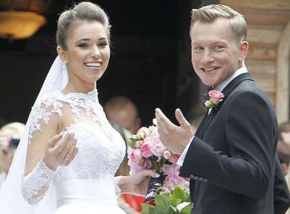 """To był ślub jak z bajki! Wesołowski i Szczurek powiedzieli """"tak""""!"""