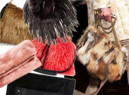 To jest hit! 20 futrzanych torebek z zimowych kolekcji od 76 złotych