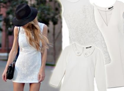 To jest hit: 25 białych sukienek na jesień