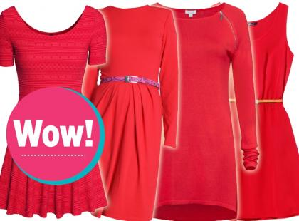 To jest sexy: nasz przegląd czerwonych sukienek