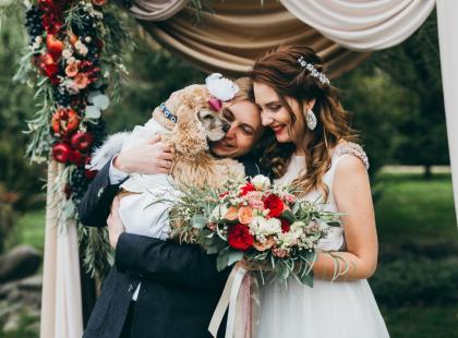 To najsłodsze zdjęcia ślubne z pupilami, jakie widziałyśmy!