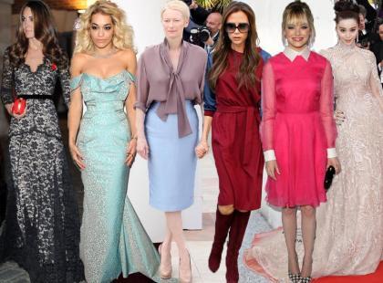To one zostały okrzyknięte najlepiej ubranymi kobietami 2012 roku