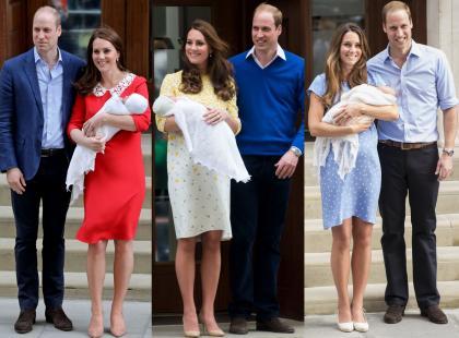 To tradycja, że książęca para pokazuje nowo narodzone dziecko. Ale tym razem Kate nas zaskoczyła!