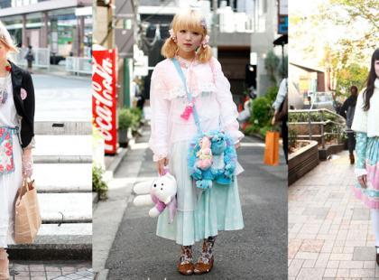 Tokio - moda uliczna