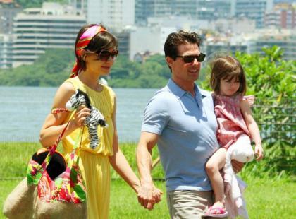 Tom Cruise i Katie Holmes zabrali Suri na kilka dni do Miami