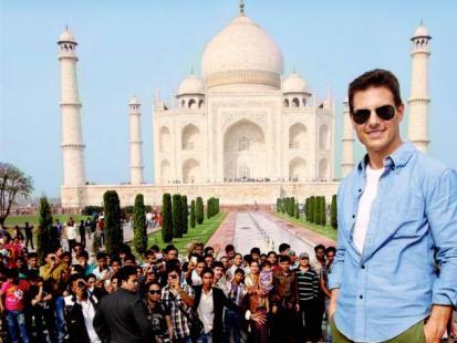 Tom Cruise - Indie zdobyte