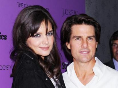 Tom Cruise podarował Katie Holmes maszynę do szycia