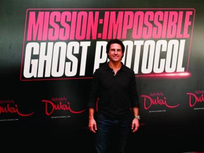 "Tom Cruise promuje ""Mission Impossible"" w Dubaju"