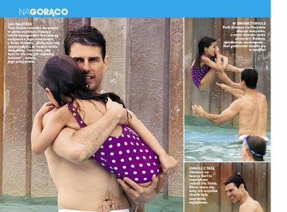 Tom Cruise zabrał Suri na bajeczne wakacje!