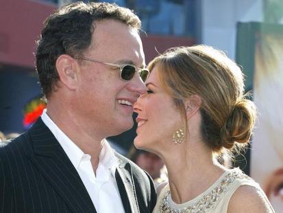 Tom Hanks i Rita Wilson - Stworzeni dla siebie