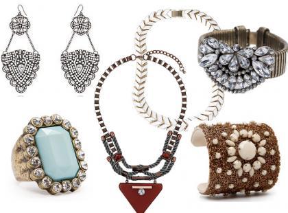 Top 10: biżuteria na lato 2013