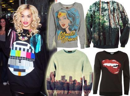 Top 10: Najmodniejsze bluzy na jesień 2012