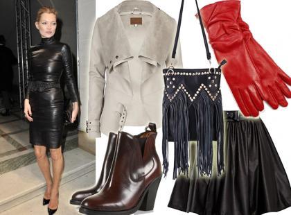 Top 10: skórzane ubrania i dodatki na jesień 2012