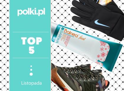 TOP 5 na listopad - wybór redaktor działu Dieta i Fitness
