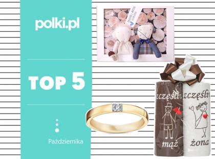 Top 5 na październik: wybór redaktor działu Ślub