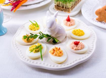 TOP 5 przepisów na wielkanocne jajka – super wyglądają i smakują!
