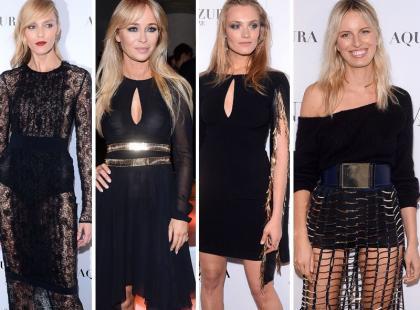 Top modelki i wielkie gwiazdy na prezentacji kolekcji La Manii