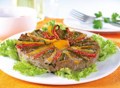 Tort mięsny z papryką