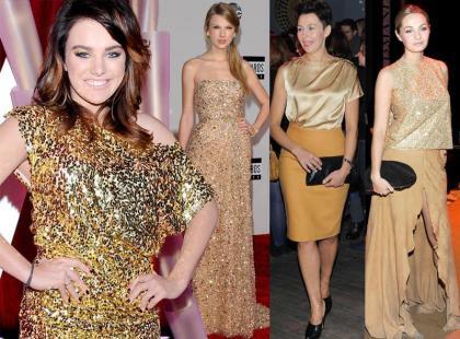 Trend na sylwestra 2011: złoto