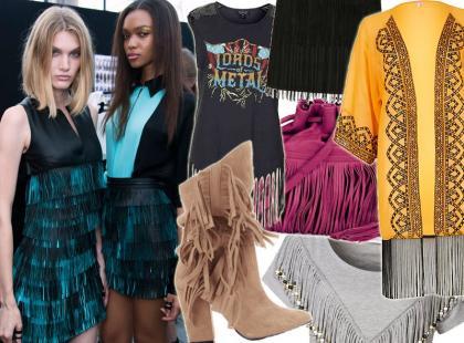 Trend obowiązkowy: frędzle na ubraniach i dodatkach