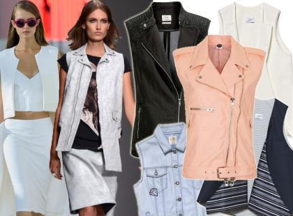 Trend wprost z pokazów mody: kamizelka