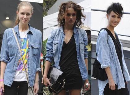 Trend z ulicy: dżinsowe koszule