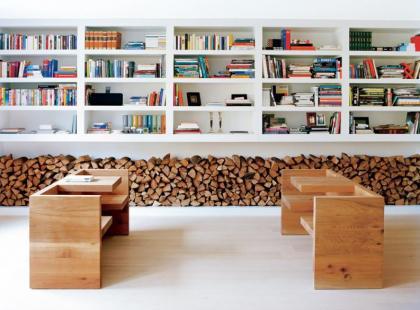 Trendy - drewno w mieszkaniu
