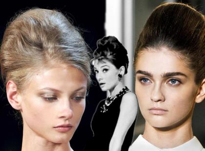 Trendy fryzury 2012: Kok jak u Audrey Hepburn
