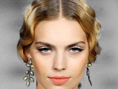 Trendy fryzury 2012: W stylu retro