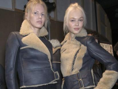 Trendy jesień-zima 2010: Lotnicze kurtki awiatorki