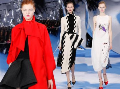 Trendy jesień-zima 2013/2014 - prosto z wybiegu Diora