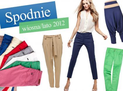 Trendy w spodniach na wiosnę i lato 2012