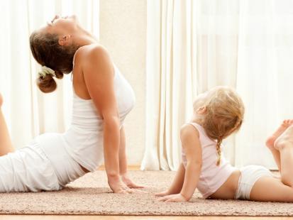 Trening dla świeżo upieczonej mamy