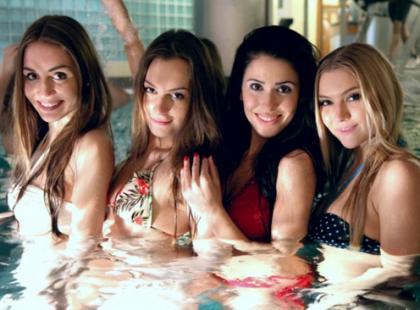 Trening kandydatek na Miss Polonia 2012