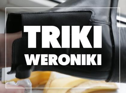 Triki Weroniki: Jak czyścić skórzane buty bez użycia pasty?